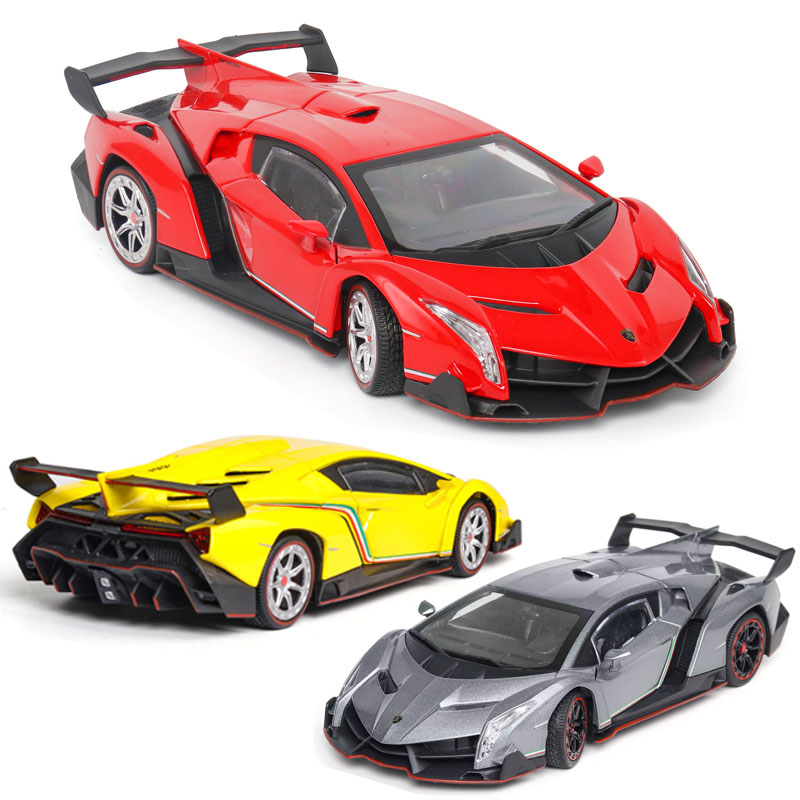 1:24 Lamborghini-veneno Car Model Alloy Car Die Casting Car Toy Car Children's Toy Collectibles Free Shipping