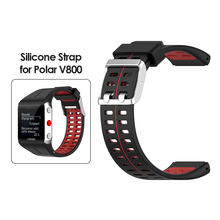 Women Men Replacement Dial Wristwatch Present Watch Band Fashionable for Polar V800 GPS Smart Bracelet Wrist Strap