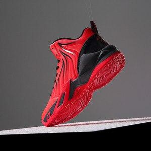 Image 3 - מותג נעלי ריצה לגברים לנשימה נוח ללבוש עמיד מאמן ספורט נעלי זכר סניקרס נעלי כדורסל