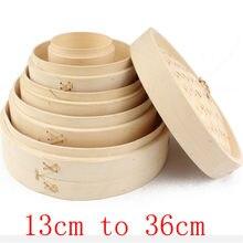 Uma gaiola ou capa de cozimento a vapor de bambu peixe arroz vegetal lanche cesta conjunto cozinha cozinhar ferramentas bolinho panela vapor