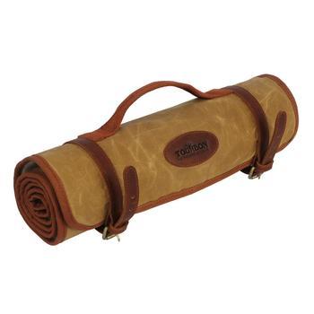 цена на Tourbon Tactical Hunting Gun Rifle Shotgun Cleaning Mat Fleece Padded Shooting Care Kit Khaki Canvas Cushion Pad