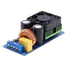 モノラルチャンネルホーム耐久性のあるIRS2092S 500ワット部分ハイパワーポータブルミニオーディオファンデジタルアンプボードd hifi部品