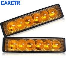 CARCTR New LED Car Light Bar Car Modification Super Bright 18W Working Lamp 6LED Vehicle Roof Lamp Car Light Bar/Work Light Spot