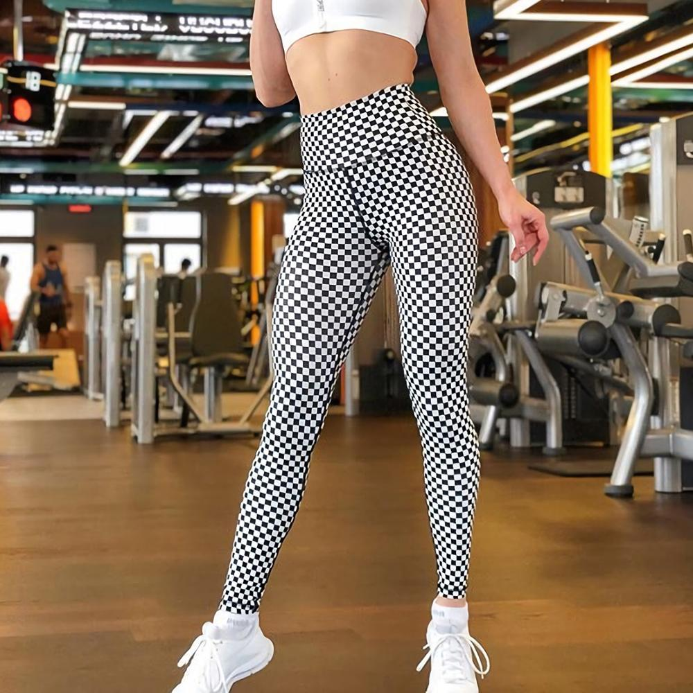 New Style Workout Fashion Women Fitness Leggings Ladies Fitness Elastic Skinny Force Polyester Sporting Leggings