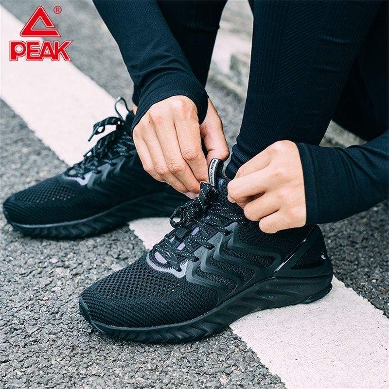 Mens Casual Lightweight Shoes Reflective Sports Sneakers Running Breathable Gym