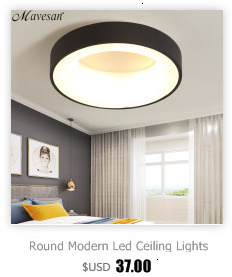 H718b828940ed42b2bc4a8baf50d50c1fN Round Modern Led Ceiling Lights For Living Room Bedroom Study Room Dimmable+RC Ceiling Lamp Fixtures
