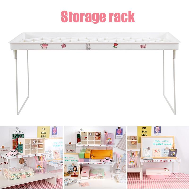 Multipurpose Mini Foldable Houseware Standing Storage Rack For Home Kitchen Storage Rack SP99