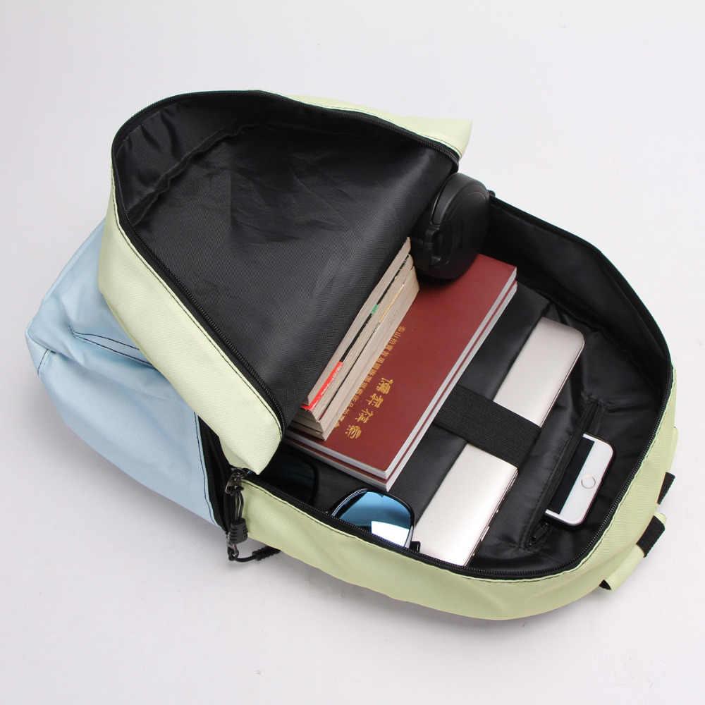 لطيف مضحك أكيتا شيبا Inu الكلب/القط هريرة حقيبة ظهر للمراهقين فتاة بوي حقيبة مدرسية النساء الرجال حقيبة ظهر عادية حقيبة كتب الأطفال
