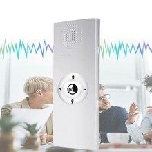 Портативный мини многоязычный умный голосовой переводчик 40 язык s переводчик Bluetooth беспроводной двусторонний в режиме реального времени мгновенный голос(W