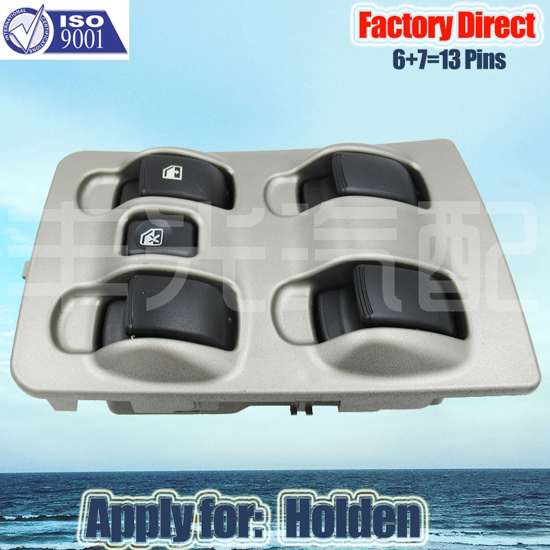 Factory Direct Auto Electric Power Window Switch Apply For Holden Auto Power Left Switch 4 Door