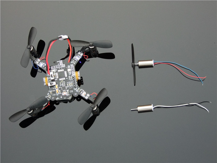 1set=2pcs DC3.7-4.2V 716 7*16MM Micro DIY Helicopter Coreless DC Motor With Propeller Great Torque High Speed Motor