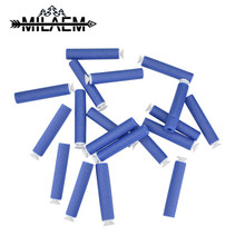 100 PCS  Archery Bullets Soft Hollow Hole Head Darts Toy Gun for Kid Children Gift Bullet Foam Guns Accessories