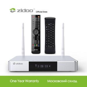 Image 1 - Zidoo Z9S Media Player 4Kสมาร์ททีวีกล่องAndroid 7.1 NASระบบ 2GB DDR 16GB eMMCชุดกล่องด้านบนHDR Androidกล่องHDR 10Bit TVbox