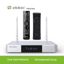 Zidoo reproductor multimedia Z9S 4K Dispositivo de TV inteligente, Android 7,1, sistema NAS, 2GB de RAM, 16GB de ROM, decodificador de señal eMMC, HDR, Android, 10 bits, TVbox