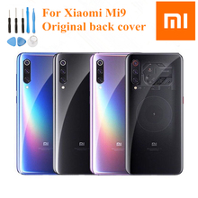 Original XiaoMi Replacement Battery Glass Back Cover Door Rear Housing Protective Phone Back Cover+tools For Xiaomi 9 Mi 9 mi9