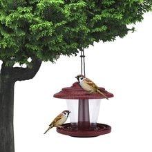 Distributeur de nourriture pour oiseaux, fournitures d'extérieur, décoration d'extérieur, jardin, cour, sauvage