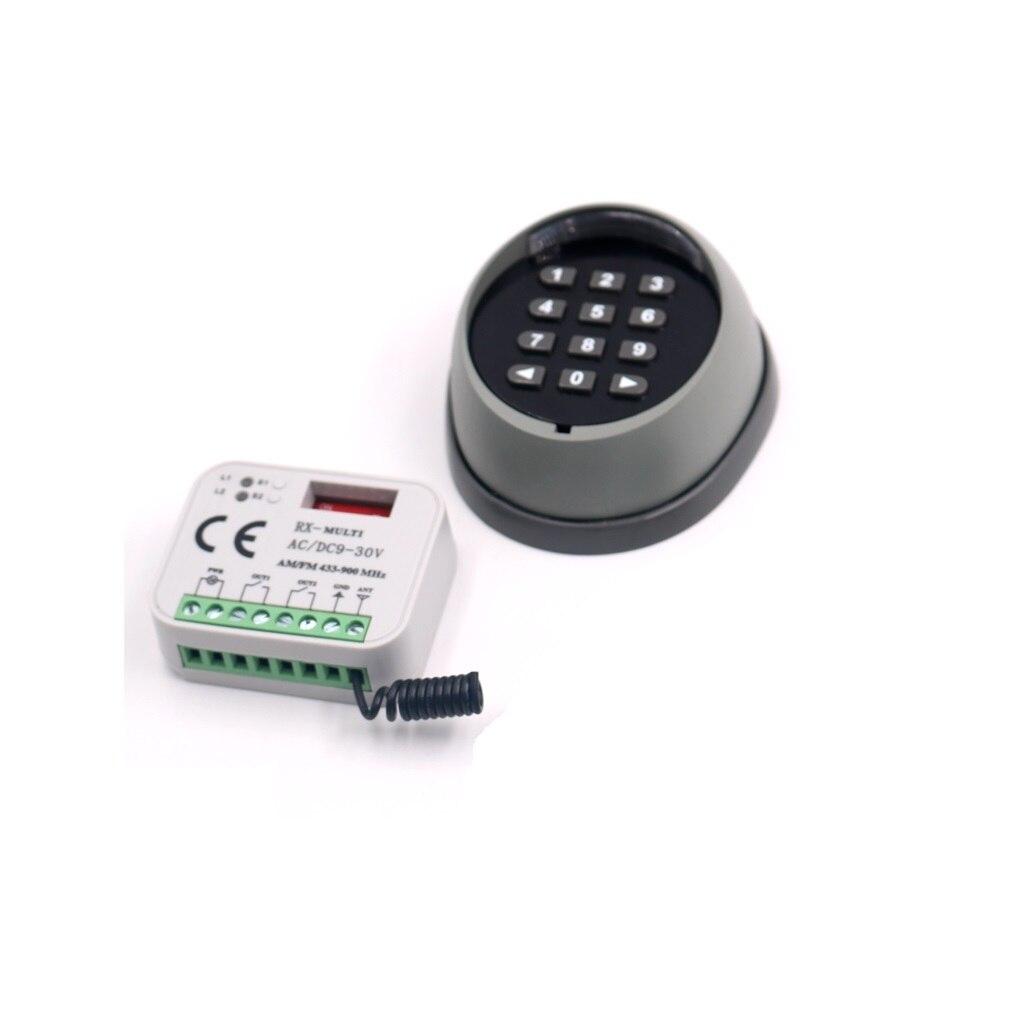 433,92 МГц 2 канала Беспроводной пульта дистанционного управления пароль реле для открытия двери доступа Управление HCS101 Стандартный дверь вор