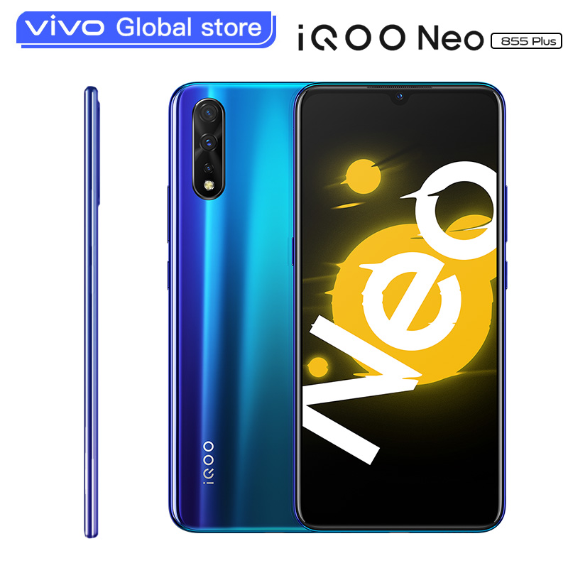 Vivo IQOO Neo 855 Plus Smartphone 12GB 128GB Snapdragon 855 Plus UFS 3.0 Android 9 Celular 6.38-Inch Super-AMOLED Cell Phones