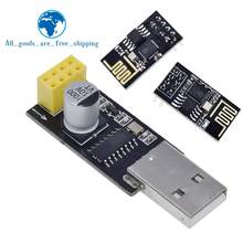 ESP01 Programmer Adapter UART GPIO0 ESP-01 Adaptater ESP8266 CH340G USB to ESP8266 Serial Wireless Wifi Developent Board Module(China)