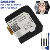 SAMSUNG-EB-BR720ABE de batería Original para Samsung Gear S2 classic SM-R720 R720 R732, batería auténtica de repuesto de 250mAh