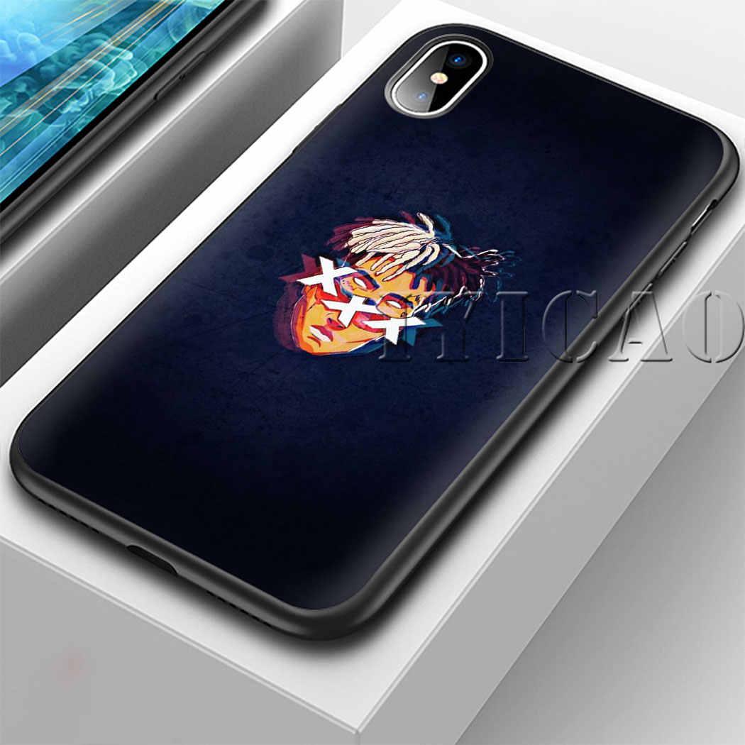 IYICAO Hiphop XXX Zachte Siliconen Case voor iPhone XS Max XR X 8 7 6 6S Plus 5 5s se