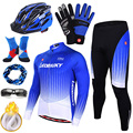 2020 Pro Team Велоспорт Джерси Набор для мужчин Велосипедное платье зимняя теплая велосипедная одежда с длинными рукавами велосипедная одежда М...
