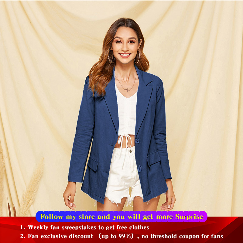 Vintage Double Breasted Plaid Women Blazer Pockets Jackets Female Retro Suits Coat Tops Blazers Outerwear Quality New 2020