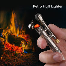 Новая ветронепроницаемая керосиновый зажигалка ретро для кемпинга