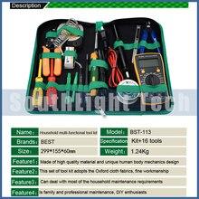Haushalt Hand Tool Set Elektronische Wartung Reparatur Tools Kit Elektrische Lötkolben Kit Zange Pinzette Digital-Multimeter