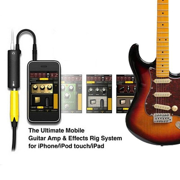 Rig Guitar Link Audio Interface Cable AMP Amplifier Effects Pedal Adapter Tuner System Convertor for iPhone iPad iPod image