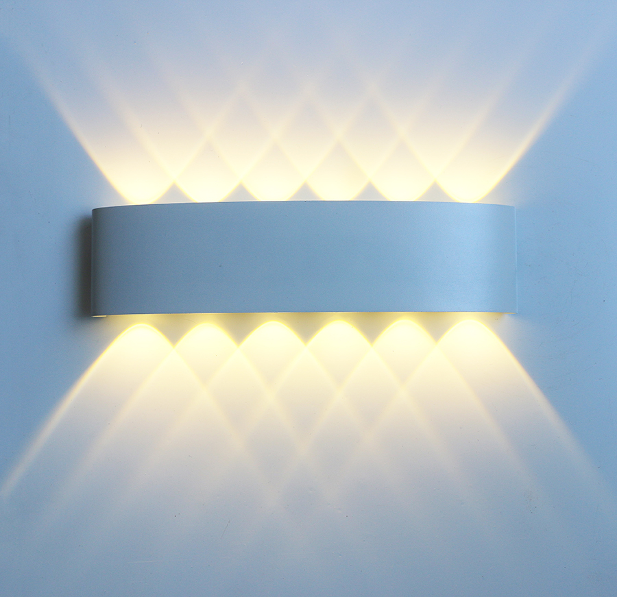 Led Wall Lamp Aluminum Outdoor IP65 Waterproof Up Down Wall Light For Home Stair Bedroom Bedside Bathroom Corridor Lighting RF18 5