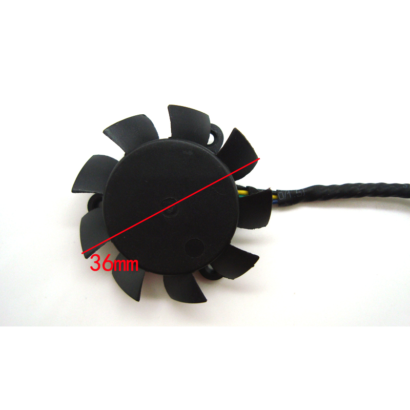 Brand new original PLA04010B05HH-1 25mm 36mm DC5V 0.27A Frameless graphics card fan cooling fan image