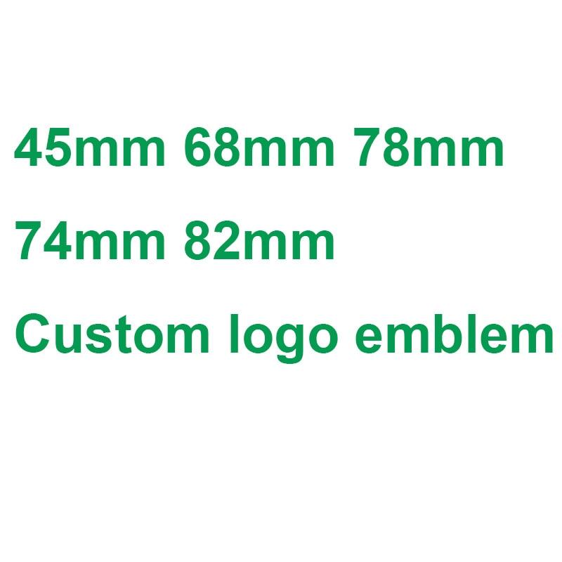 82mm 74mm 78mm White Blue Emblem Badge BONNET Hood Front Rear Trunk Logo E46 E39 E38 E90 E60 Z3 Z4 X3 X5 X6 51148132375