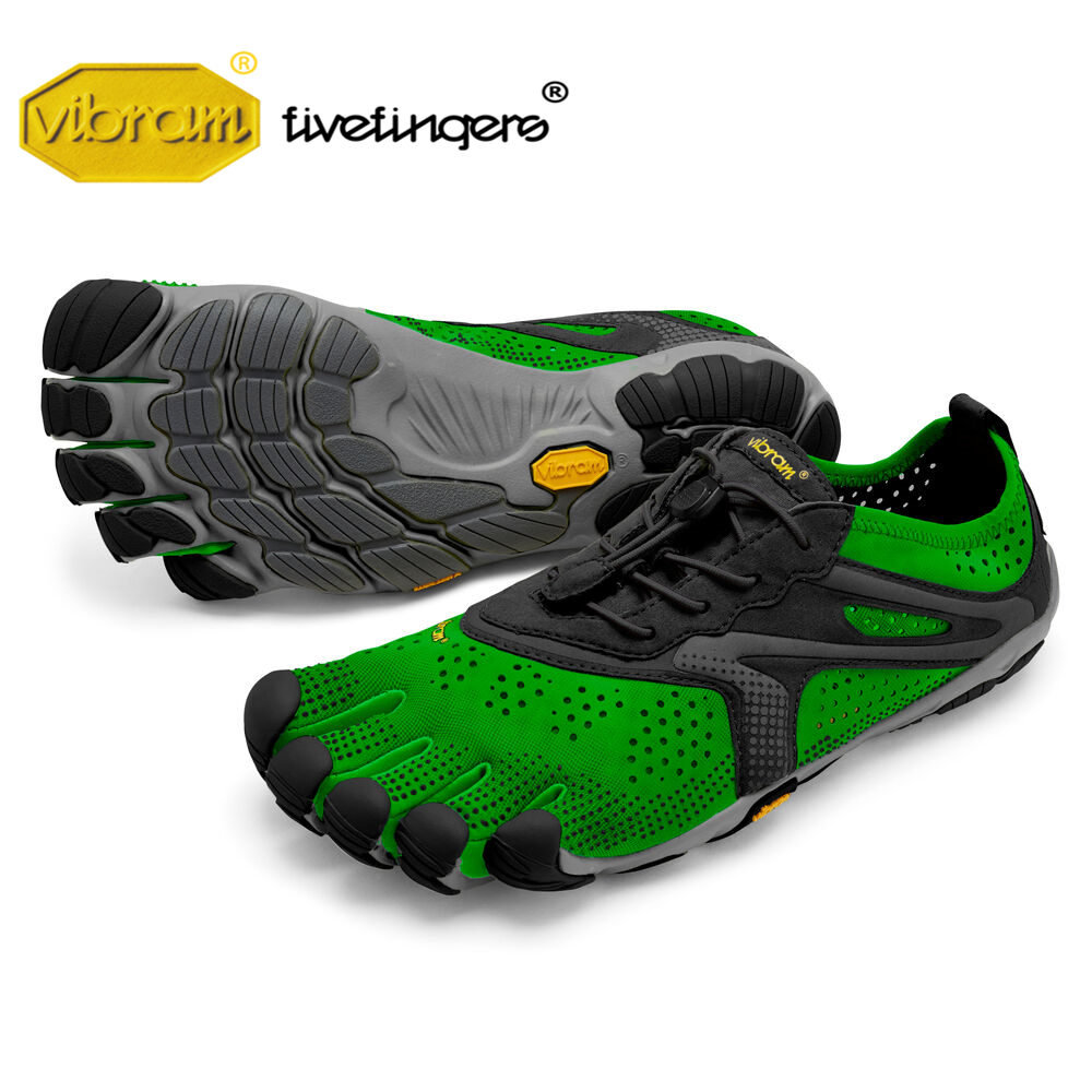Vibram Fivefingers 2020V-RUN Men's Outdoor Sports Road Running Shoes Five Fingers Breathable Wear Resistant Five-toed Sneakers