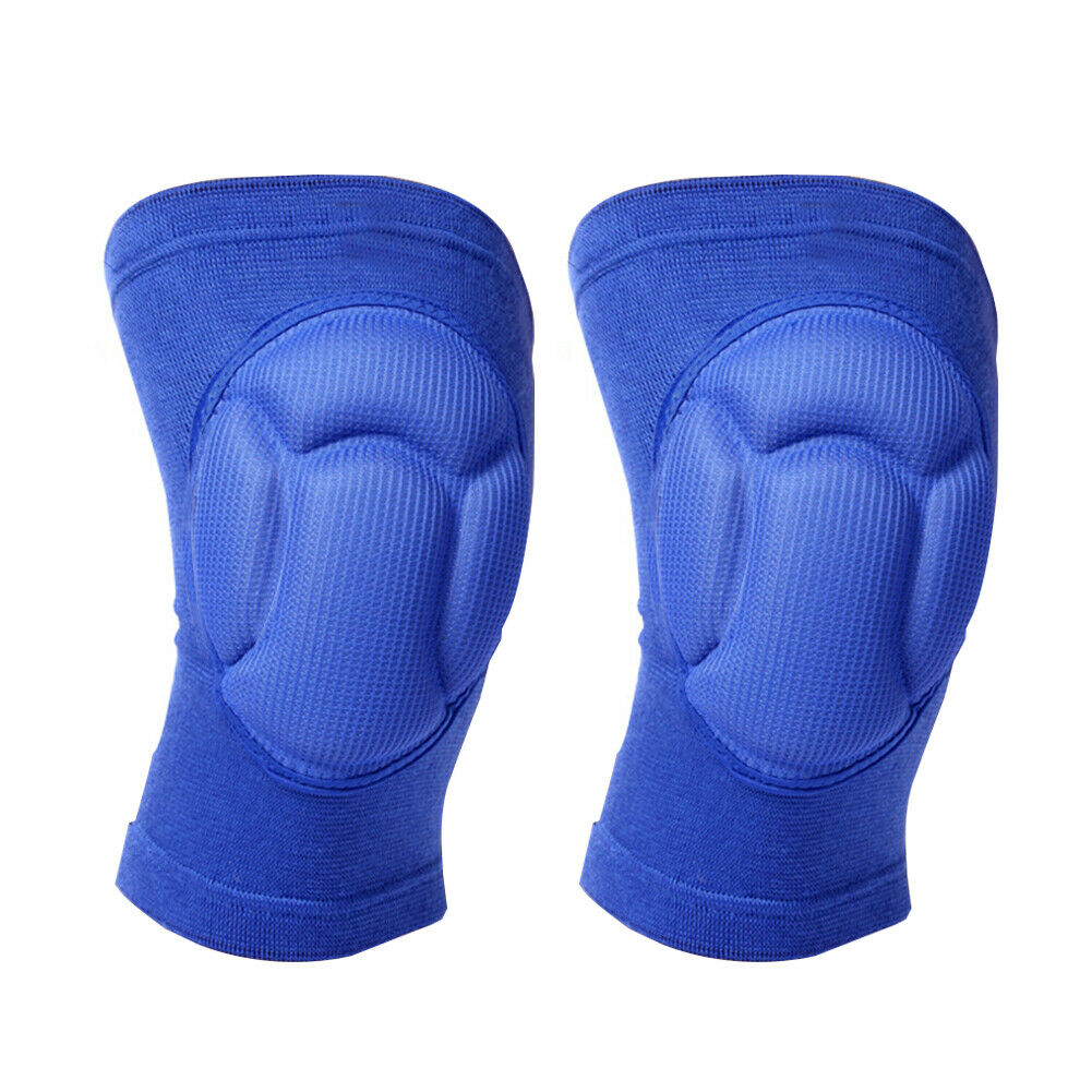 1 Pair Outdoor Sports Knee Pads Adult Thickened Construction Wrap Work Safety Protective Gear Brace Kneelet Joint Protector