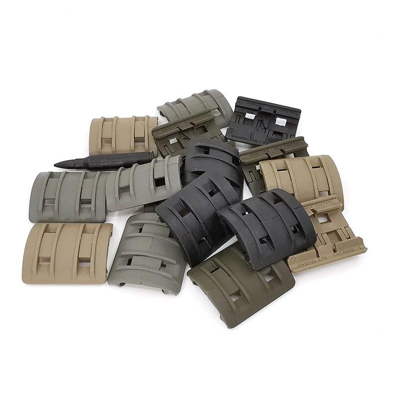 32 pièces 1 Pack tactique Airsoft panneaux Picatinny rail Handguard couverture chasse