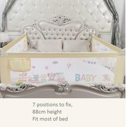 Cama de viaje portátil rail bebé corralito babi corralito bebé valla para la cama del bebé cama safeti rail seguridad cama valla niños barandilla