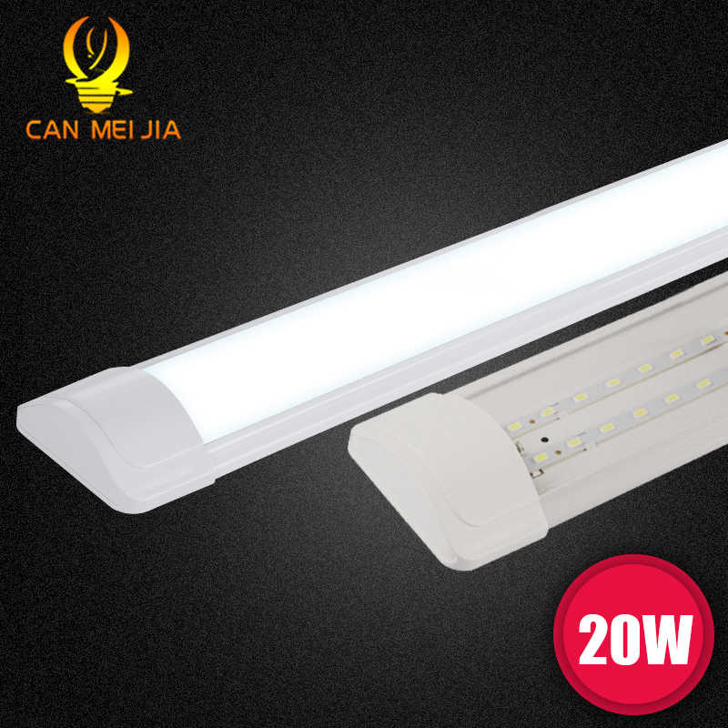 20W lámpara de tubo de luz Led T8 220V 9W 10W Super brillante Led lámpara de pared 600mm 60cm 2ft accesorio de iluminación para el dormitorio de la Sala