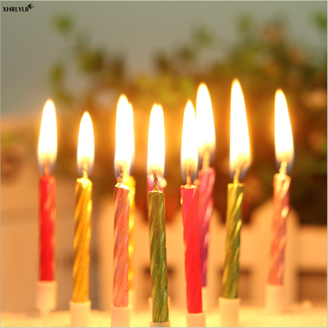 Smokeless Birthday Candles