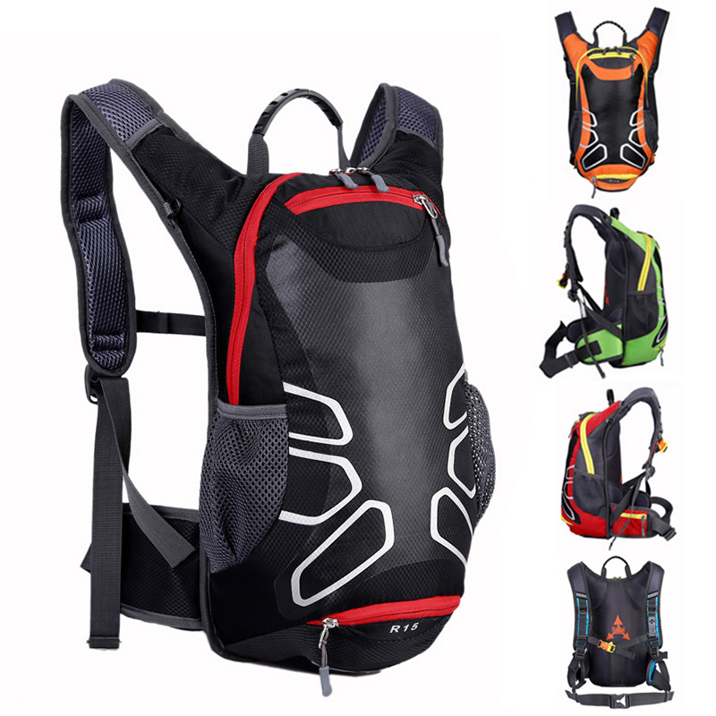 Motorcycle Backpack Waterproof Nylon 15L For <font><b>yamaha</b></font> <font><b>fazer</b></font> <font><b>600</b></font> r6 2008 r6 <font><b>2000</b></font> ttr 250 yzf600r raptor 350 blaster jog rr mt 03 image