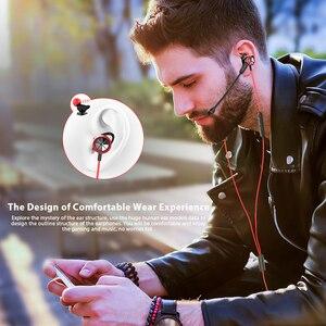 Image 3 - Langsdom Gaming auricolare In Ear 3.5mm cuffie cablate per PS4 PUBG Gamer cuffie auricolari Hi Fi con doppio microfono staccabile