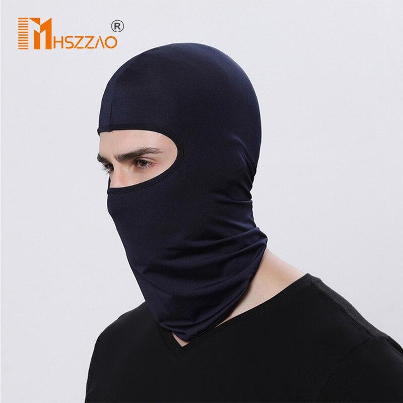Motorcycle Face Mask Motorcycle Unisex Tactical Face Shield Mascara Ski Mask Full Face Mask Gangster Mask #(China)