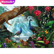MomoArt Diamond Embroidery Landscape Full Drill Diamond Painting Square Rhinestone Diamond Mosaic Animal Cross Stitch momoart diamond embroidery landscape full drill diamond painting square rhinestone diamond mosaic animal cross stitch