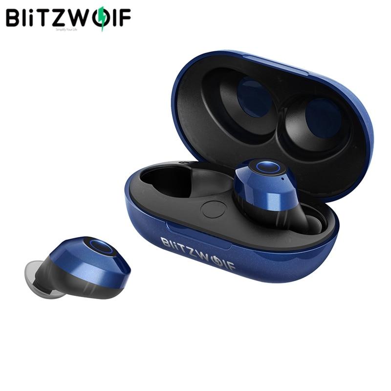 BlitzWolf BW FYE5 bluetooth 5.0 TWS True Wireless Earphone Headphones Sports Earbuds HiFi Bass Stereo Sound Headsets Ear Buds