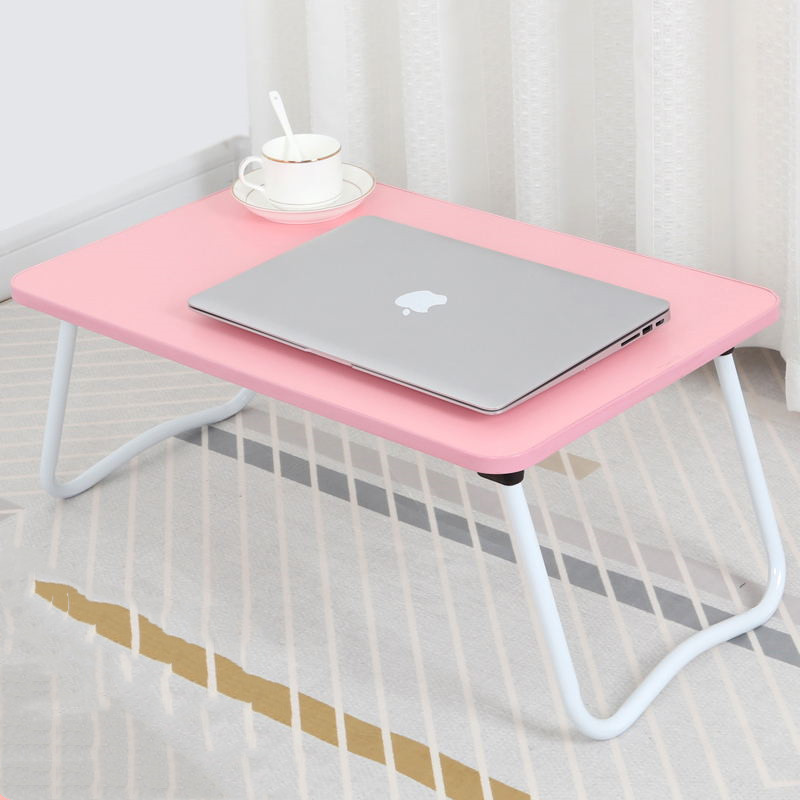 Folding Laptop Computer Small Table Bed College Student Bay Window Dormitory Lazy GIRL'S Heart Bedroom Sit Desk