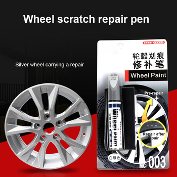 Car Paint Scratch Repair Pen Wheel Touch Up Paint Cleaner Painting Pens Marker Pen Paint Car Tyre Tread Care Spray Paint TSLM1 image