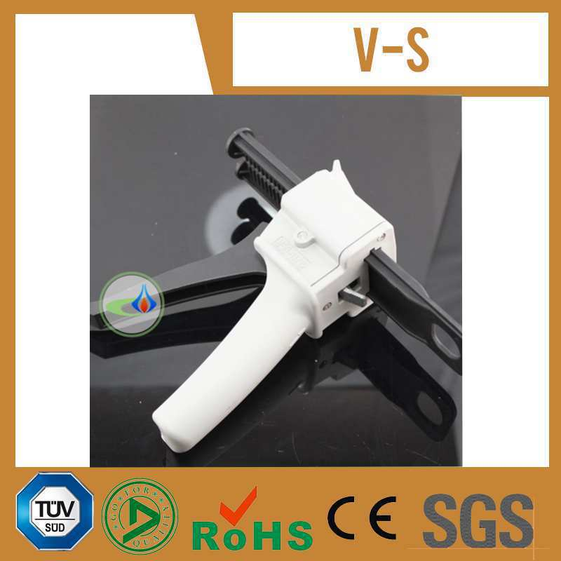 Free Shipping 1:1 2:1 Ratio Dental Impression Mixing Dispenser Dispensing Caulking Glue Gun 50 Ml/cc