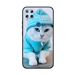 Image 4 - TPU Case For Realme Narzo 20 30A Case Silicone Soft Back Cover For Realme 7i Global Phone Cases For Realme C15 C12 C25 Covers