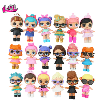 1pcs Random Genuine LOL Surprise Dolls Original Lol Dolls Surprise Action Figure Model Toys with Accessories Gifts for Girls
