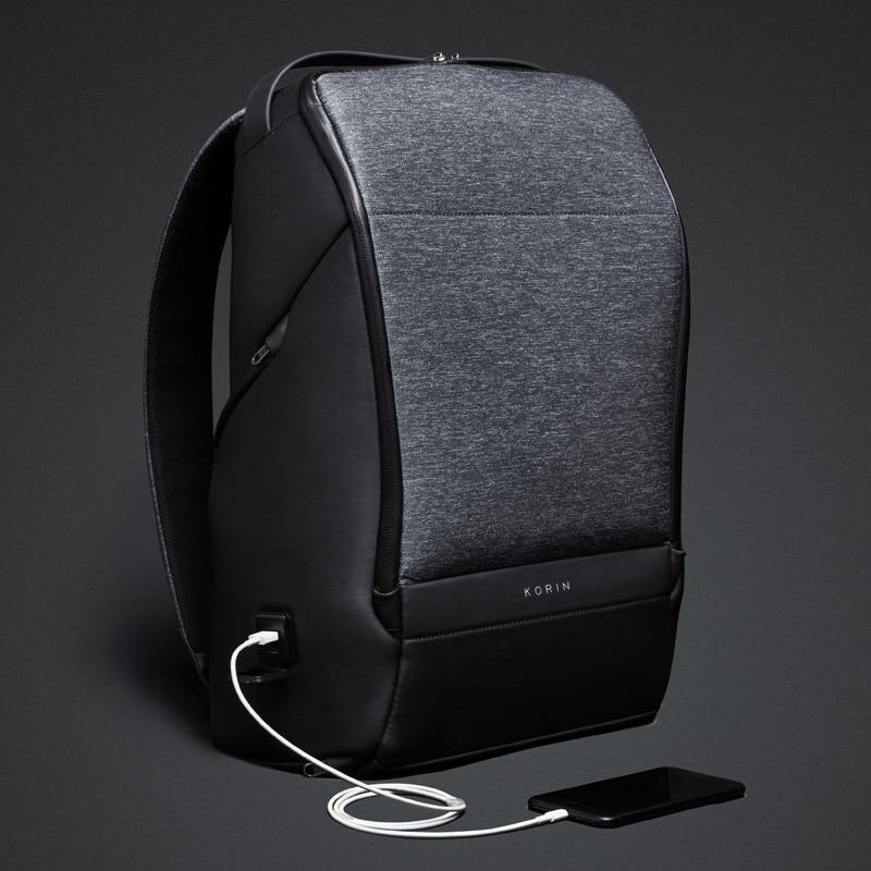 Marke Luxus Männer Rucksack Hohe ende Reise Laptop Rucksack USB Lade Anti diebstahl Business Rucksack Multifunktions Reisetaschen - 3
